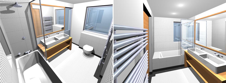 Caradec Architectures Designs Appartement Sur Les